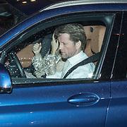 NLD/Amsterdam/20180203 - 80ste Verjaardag Pr. Beatrix, Prins Pieter Christiaan in zijn auto