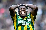 14-05-2017: Voetbal: ADO Den Haag v Excelsior: Den Haag<br /> (L-R) Sheraldo Becker of ADO Den Haag