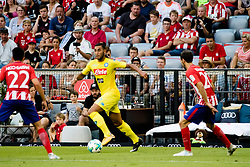 August 1, 2017 - Munich, Germany - Faouzi Ghoulam (C) of Napoli in action during the Audi Cup 2017 match between Club Atletico de Madrid and SSC Napoli at Allianz Arena on August 1, 2017 in Munich, Germany. (Credit Image: © Paolo Manzo/NurPhoto via ZUMA Press)