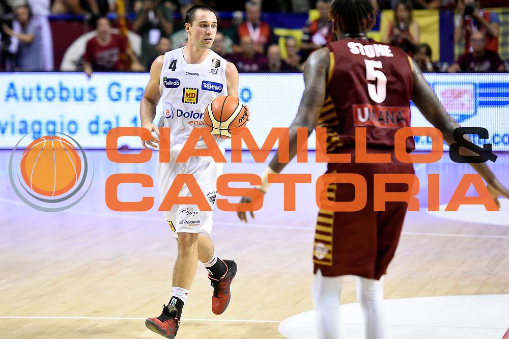 Aaron Craft<br /> Umana Reyer Venezia - Dolomiti Energia Aquila Basket Trento<br /> Lega Basket Serie A 2016/2017<br /> Playoff, finale gara 5<br /> Venezia, 18/06/2017<br /> Foto M.Ceretti / Ciamillo-Castoria