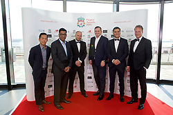 LIVERPOOL, ENGLAND - Thursday, May 12, 2016: Guests arrive on the red carpet for the Liverpool FC Players' Awards Dinner 2016 at the Liverpool Arena. xxxx (Pic by David Rawcliffe/Propaganda)
