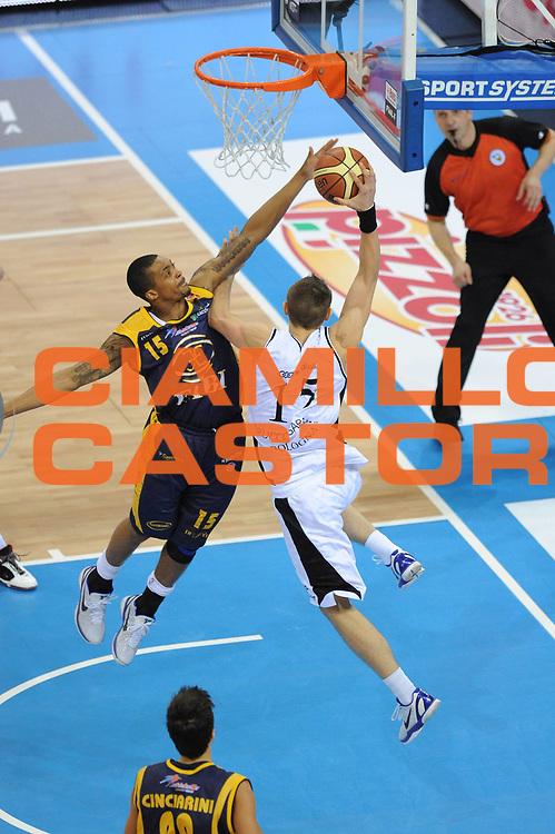 DESCRIZIONE : Torino Coppa Italia Final Eight 2011 Quarti di Finale Fabi Shoes Montegranaro Canadian Solar Bologna<br /> GIOCATORE : Allan Ray<br /> SQUADRA : Fabi Shoes Montegranaro<br /> EVENTO : Agos Ducato Basket Coppa Italia Final Eight 2011<br /> GARA : Fabi Shoes Montegranaro Canadian Solar Bologna<br /> DATA : 10/02/2011<br /> CATEGORIA : Stoppata<br /> SPORT : Pallacanestro<br /> AUTORE : Agenzia Ciamillo-Castoria/ L.Goria<br /> Galleria : Final Eight Coppa Italia 2011<br /> Fotonotizia : Torino Coppa Italia Final Eight 2011 Quarti di finale Fabi Shoes Montegranaro Canadian Solar Bologna<br /> Predefinita :