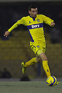 Picture by David Horn/Focus Images Ltd +44 7545 970036.11/12/2012.David Worrall of Bury during the The FA Cup match at Roots Hall, Southend.
