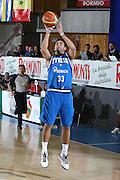 DESCRIZIONE : Bormio Torneo Internazionale Maschile Diego Gianatti Italia Senegal<br /> GIOCATORE : Pietro Aradori<br /> SQUADRA : Italia Italy<br /> EVENTO : Raduno Collegiale Nazionale Maschile <br /> GARA : Italia Senegal Italy <br /> DATA : 17/07/2009 <br /> CATEGORIA :  tiro<br /> SPORT : Pallacanestro <br /> AUTORE : Agenzia Ciamillo-Castoria/C.De Massis