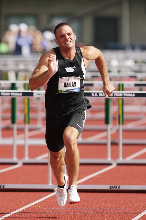 Olympic Trials Eugene 2012: Decathlon, 110 Meter Hurdles, Ryan Harlan