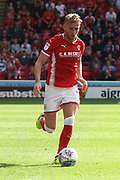 Barnsley defender Jason McCarthy (2) during the EFL Sky Bet Championship match between Barnsley and Sunderland at Oakwell, Barnsley, England on 26 August 2017. Photo by Justin Parker.