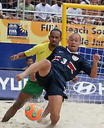 Footbal-FIFA Beach Soccer World Cup 2006 -BRA x USA -Taguinod- Rio de Janeiro, Brazil - 07/11/2006.<br />Mandatory Credit: FIFA/Ricardo Ayres