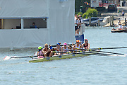 Henley on Thames. United Kingdom. Leander Club and Oxford Brookes University<br /> beat Tees Rowing Club and Agecroft Rowing Club 2013 Henley Royal Regatta, Henley Reach.   [Mandatory Credit Peter Spurrier/ Intersport Images]