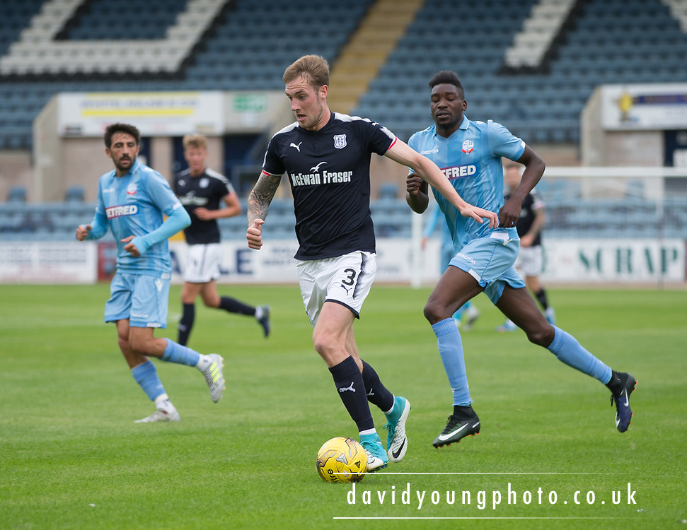 Dundee's Kevin Holt - Dundee v Bolton Wanderers pre-seson friendly at Dens Park, Dundee, Photo: David Young<br /> <br />  - © David Young - www.davidyoungphoto.co.uk - email: davidyoungphoto@gmail.com