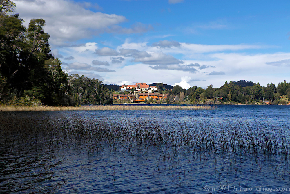 South America, Argentina, Bariloche. Llao Llao Resort & surroundings.