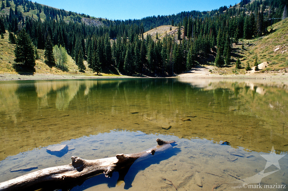 Shadow Lake, below Jupiter Peak, Park City, Utah, USA