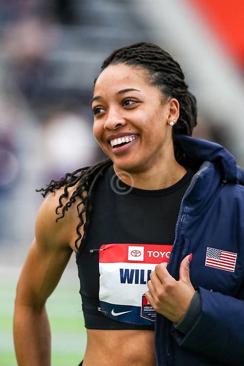 USATF Indoor Track and Field Championships<br /> held at Ocean Breeze Athletic Complex in Staten Island, New York on February 22-24, 2019; Pentathlon,