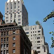 Gold Art Deco building