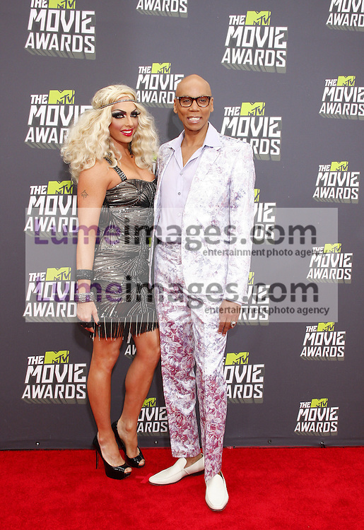 RuPaul at the 2013 MTV Movie Awards held at the Sony Pictures Studios in Los Angeles, USA on April 14, 2013.