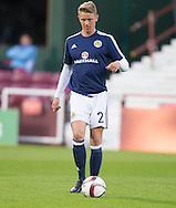 Mark O'Hara on Scotland under21 duty at Tynecastle, Edinburgh. Photo: David Young<br /> <br />  - &copy; David Young - www.davidyoungphoto.co.uk - email: davidyoungphoto@gmail.com