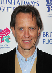 Richard E Grant at the launch of the Flight BA2012 pop up restaurant in London, Tuesday 3rd April 2012.  Photo by: Stephen Lock / i-Images
