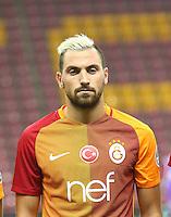 Turkey superlig match between Galatasaray and Kardemir Karabukspor at Turk Telekom Arena in Istanbul , Turkey , August 22  ,2016.<br /> Final Score : Galatasaray 1 - Kardemir Karabukspor 0<br /> Pictured: Sinan Gumus of Galatasaray.