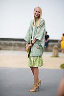 Yulia Lovoba at Dior Couture