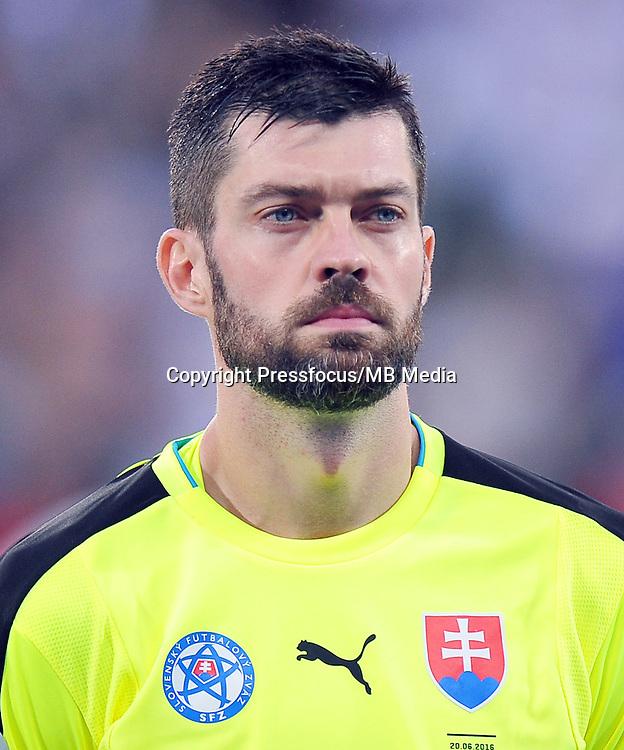 2016.06.20 Saint Etienne<br /> Pilka nozna Euro 2016<br /> mecz grupy B Slowacja - Anglia<br /> N/z Matus Kozacik<br /> Foto Norbert Barczyk / PressFocus<br /> <br /> 2016.06.20 Saint Etienne<br /> Football UEFA Euro 2016 group B game between Slovakia and England<br /> Matus Kozacik<br /> Credit: Norbert Barczyk / PressFocus