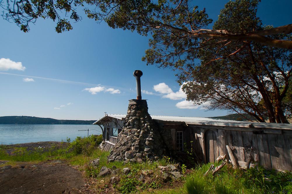 Caretaker's House, Yellow Island, San Juan Islands, Washington, US