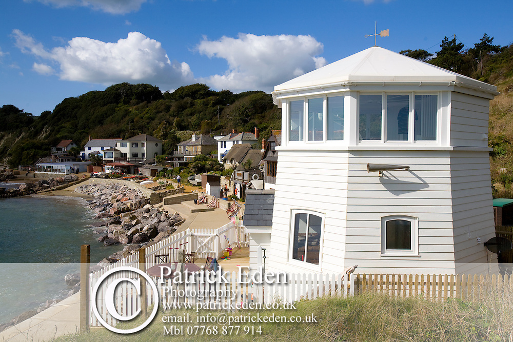 The Lighthouse, Holiday Accommodation, Steephill Cove, Beach, Isle of Wight, England, UK, photography photograph canvas canvases