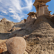 Standing Above The Fallen - Bisti Badlands - New Mexico