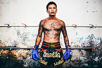 An inmate at Klong Prem prison in Bangkok, Thailand. The inmate is part of a program that pits prisoners against foreign Muay Thai fighters for a chance of reduced sentencing or early release.