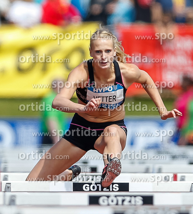 31.05.2014, Moeslestadion, Goetzis, AUT, 40. Hypo Meeting 2014, Siebenkampf der Frauen, 100 m Huerden, im Bild Anouk Vetter (BEL) // Anouk Vetter of Netherlands during the 40. Hypo Meeting Goetzis 2014, Women' s Heptathlon, 100 meters, at the Moeslestadion, Goetzis, Austria on 2014/05/31. EXPA Pictures © 2014, PhotoCredit: EXPA/ Peter Rinderer