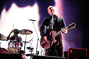 Queens Of The Stone Age performing live at the Rock A Field Festival in Luxembourg, Europe on June 30, 2013