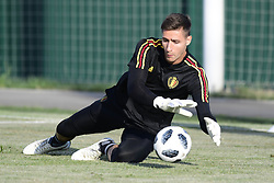 June 17, 2018 - Sochi, Russie - SOCHI, RUSSIA - JUNE 17 : Koen Casteels  goalkeeper of Belgium pictured during a training session of the national soccer team of Belgium prior to the FIFA 2018 World Cup Russia group G phase match between Belgium and Panama at the Fisht Stadium on June 17, 2018 in Sochi, Russia, 17/06/2018 (Credit Image: © Panoramic via ZUMA Press)