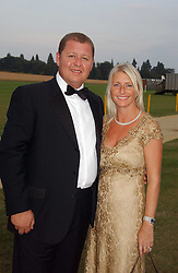 TONY & LESLEY PIDGLEY at the Cowdray Gold Cup Golden Jubilee Ball held at Cowdray Park Polo Club, on 21st July 2006.<br /><br />NON EXCLUSIVE - WORLD RIGHTS