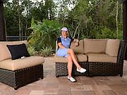 Portrait shoot with professional golfer Annika Sorenstam at her home on Sept. 24, 2013 in Orlando, FL.<br /> <br /> (AP Photo/Scott A. Miller)