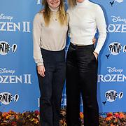 NLD/Amsterdam/20191116 - Filmpremiere Frozen II, Lara van Ruijven en Yara van Kerkhof
