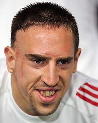 Franck Ribery of Bayern Munich poses before the UEFA Champions League quarter final first leg match between FC Barcelona and FC Bayern Munich at the Camp Nou stadium on April 8, 2009 in Barcelona, Spain.