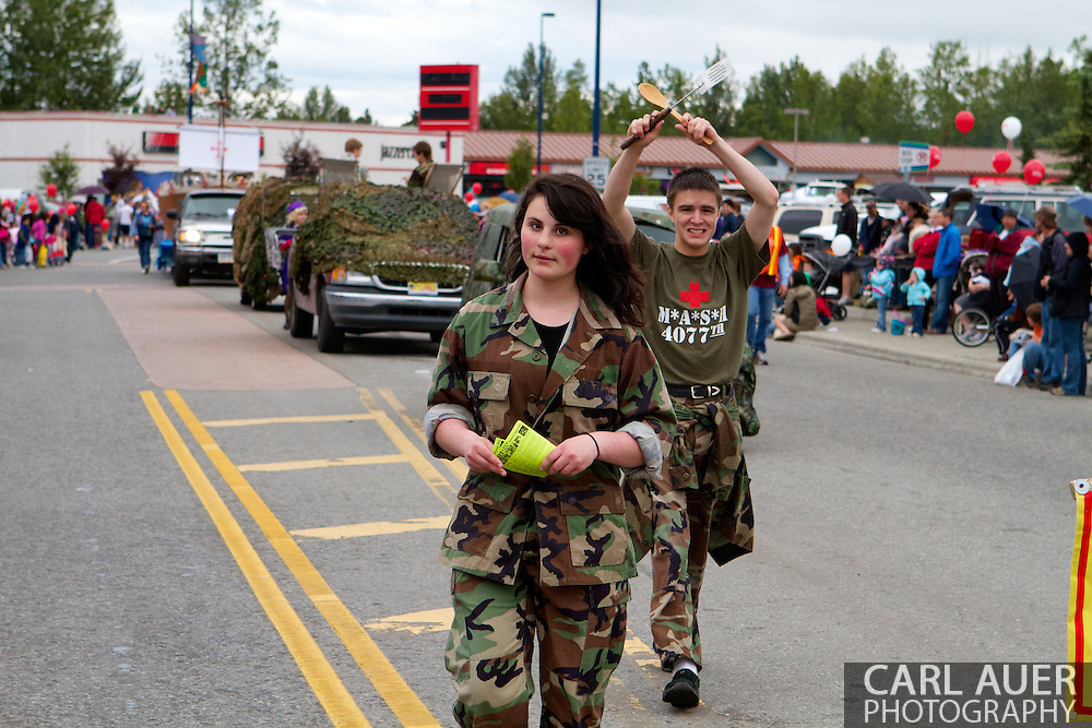 2010 Bear Paw 5k Race and Parade in Eagle River, Alaska