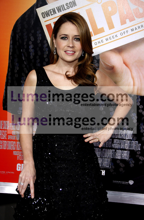 Jenna Fischer at the Los Angeles premiere of 'Hall Pass' held at the ArcLight Cinemas in Hollywood on February 23, 2011. Credit: Lumeimages.com
