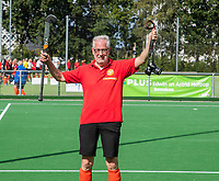 WAGENINGEN -  Wim Groninger. lustrum 2019,  60+ hockey, 30jaar.   met wedstrijden en andere festiviteiten.   COPYRIGHT KOEN SUYK