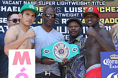 July 10, 2015: Mauricio Herrera vs Hank Lundy Weigh-In