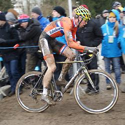 01-02-2015: Wielrennen: WK veldrijden: Tabor<br />Niels Wubben