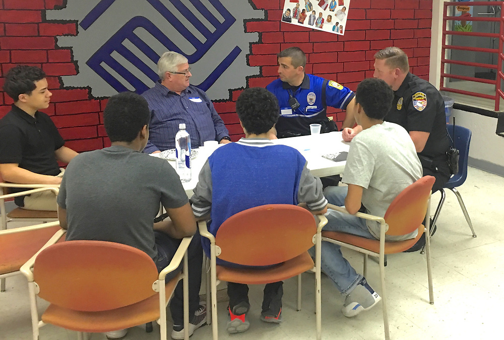 Police and City Teens Dialogue