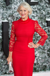 © Licensed to London News Pictures. 15/12/2016. DAME HELEN MIRREN attend the European film premiere of Collateral Beauty. London, UK. Photo credit: Ray Tang/LNP