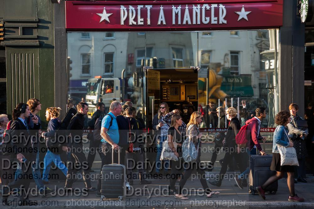 Pret a Manger, King's Cross, London, 21 September 2016