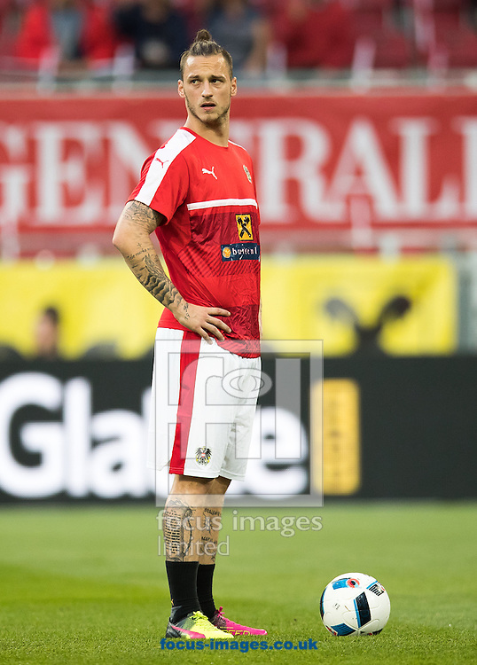 Marko Arnautovic of Austria during the International Friendly match at Worthersee Stadion, Klagenfurt, Austria.<br /> Picture by EXPA Pictures/Focus Images Ltd 07814482222<br /> 31/05/2016<br /> ***UK &amp; IRELAND ONLY***<br /> EXPA-GRO-160531-5376.jpg
