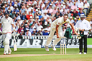 Australian bowler Josh Hazelwood during the 3rd Investec Ashes Test match between England and Australia at Edgbaston, Birmingham, United Kingdom on 30 July 2015. Photo by Shane Healey.