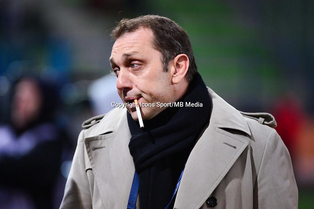 Xavier GRAVELAINE - 06.12.2014 - Caen / Nice - 17eme journee de Ligue 1 -<br />Photo : Dave Winter / Icon Sport