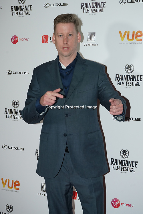 London, England, UK. 21th September 2017. Producer Randle Schumacher attend Raindance Film Premiere of 'I'm Not Here', starring J.K. Simmons