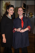 SABRINA GHAYOUR; ANGELA HARTNETT, Veuve Clicquot World's Best Female chef champagne tea party. Halkin Hotel. Halkin St. London SW1. 28 April 2014.