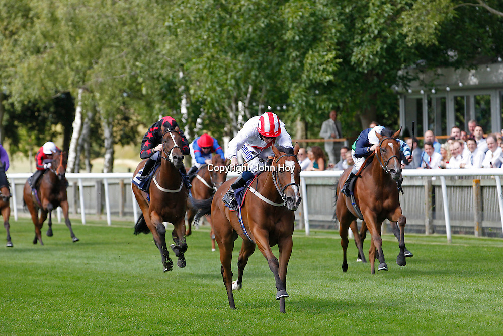 Remember and Ryan Moore winning the 2.10 race
