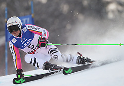 14.02.2013, Planai, Schladming, AUT, FIS Weltmeisterschaften Ski Alpin, Riesenslalom, Damen, 1. Durchgang, im Bild Viktoria Rebensburg (GER) // Viktoria Rebensburg of Germany in action during 1st run of the ladies Giant Slalom at the FIS Ski World Championships 2013 at the Planai Course, Schladming, Austria on 2013/02/14. EXPA Pictures © 2013, PhotoCredit: EXPA/ Sammy Minkoff
