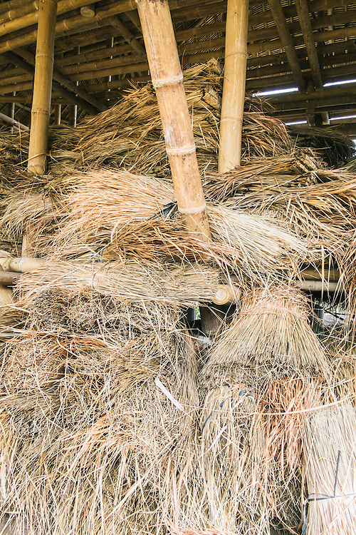 Thatch materila for roofing